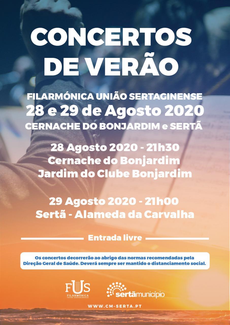 Concerto de Verão /Filarmónica União Sertaginense
