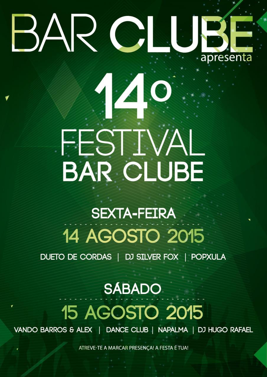 14º FESTIVAL BAR CLUB
